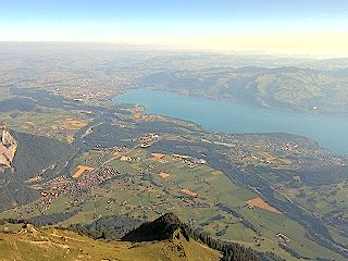 Reichenbach Niesen nach Thun